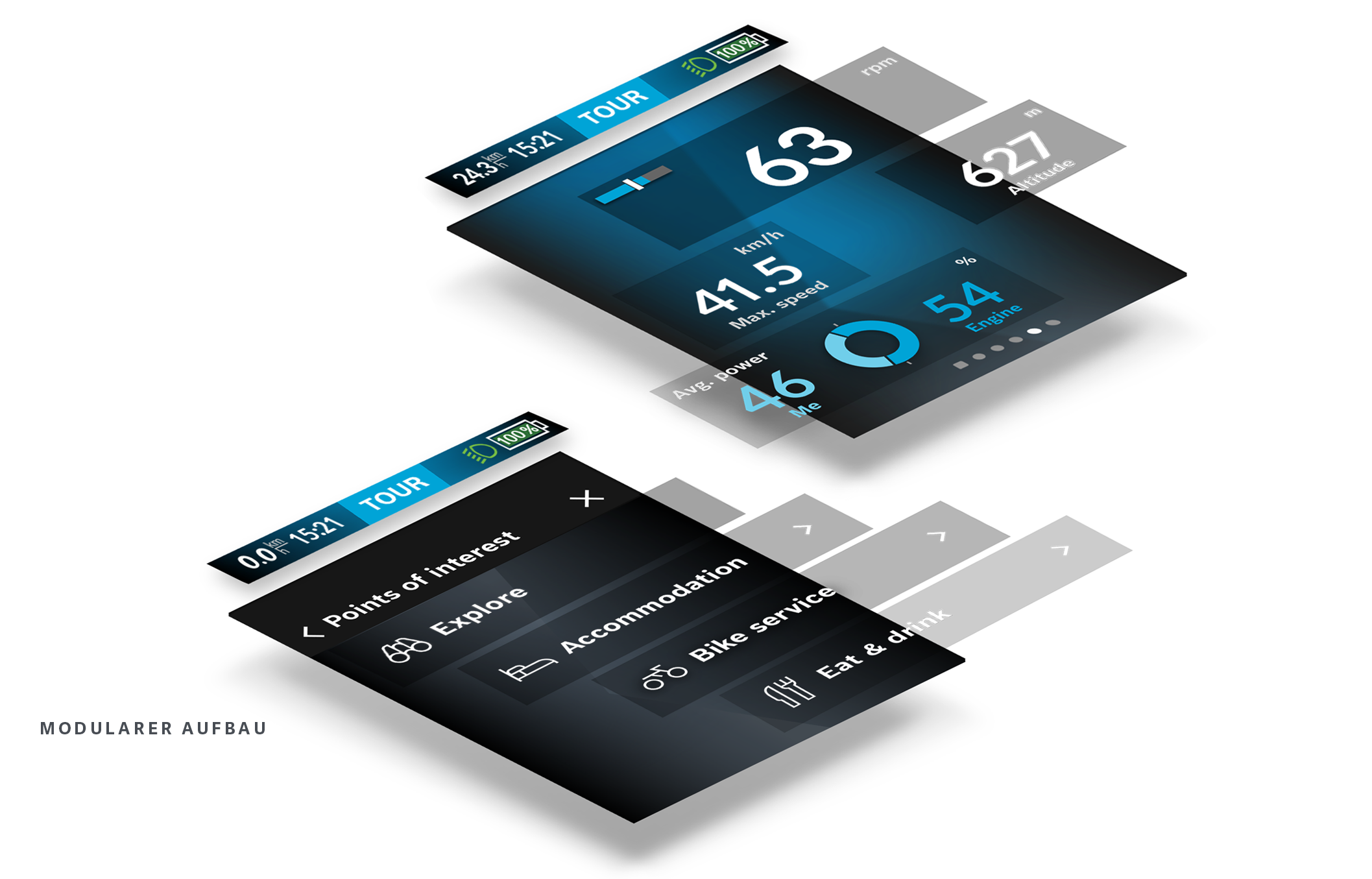 Portfolio » BOSCH · UI E-BIKE BORDCOMPUTER NYON 2021